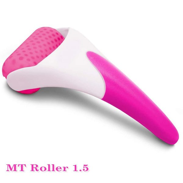 Skin cool ice roller is a handheld device that can be frozen effectively in the freezer. It can be used at anytime and any place for sore muscle, tension, pain and discomfort. Skin cool ice roller can be also used daily to revitalize, refresh and rejuvenate the skin. It is a simple, easy and economic way to keep your skin young and healthy. Keep it in the freezer at all times. Use whenever desired on face and body. Skin cool ice roller at-home: Plastic head (white) + blue handle skin cool ice roller professionals: Stainless steel head (silver) + white handle.