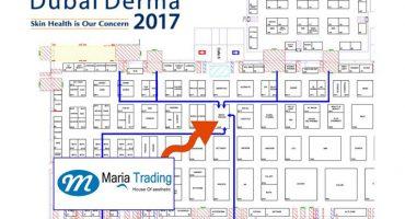 dubai derma 2017 maria trading