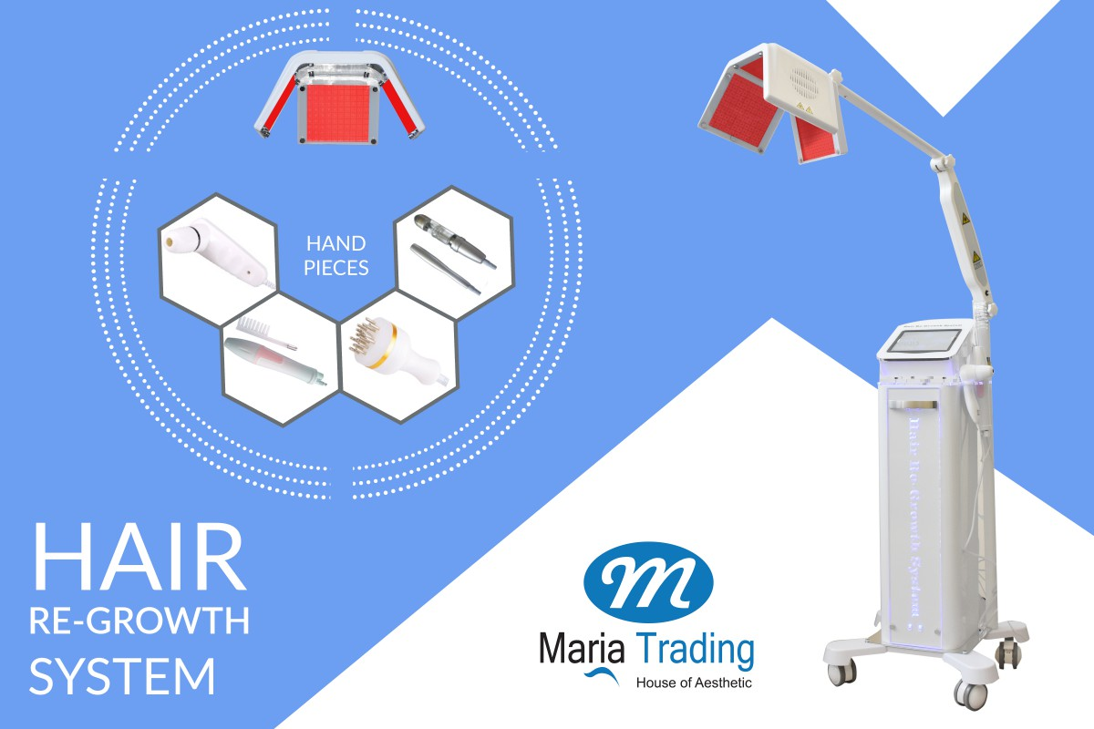 Hair Re-Growth System Machine Maria Trading UAE