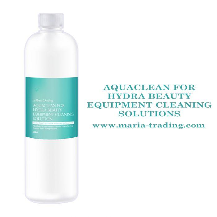Aqua clean solution for machine