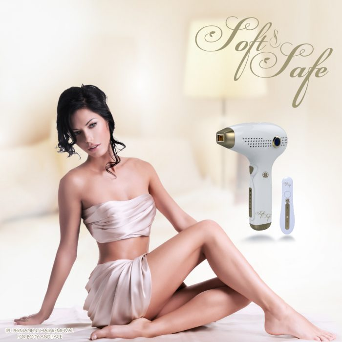 Soft & Safe hair removal device