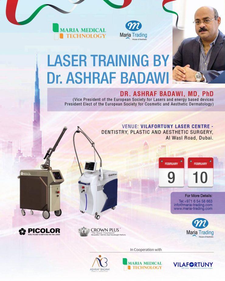laser training by dr ashraf badawi
