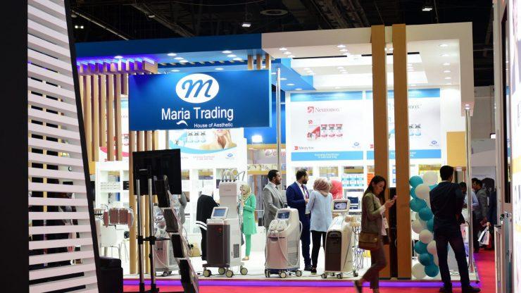 Dubai Derma fest,maria trading Dubaai dermafest