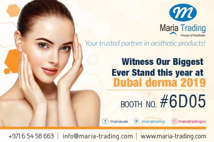 Maria trading Dubai derma