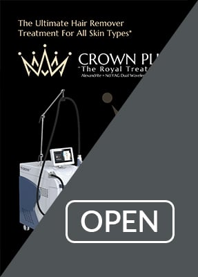 Crown Plus Maria Trading Alexandrite + Nd YAG laser