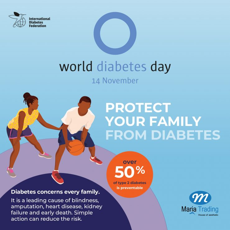 Maria Trading,diabetes day,Nov 14,trading,aesthetic products