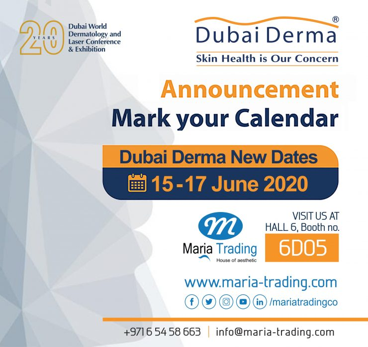 Dubai Derma 2020 / dermatology equipment in uae