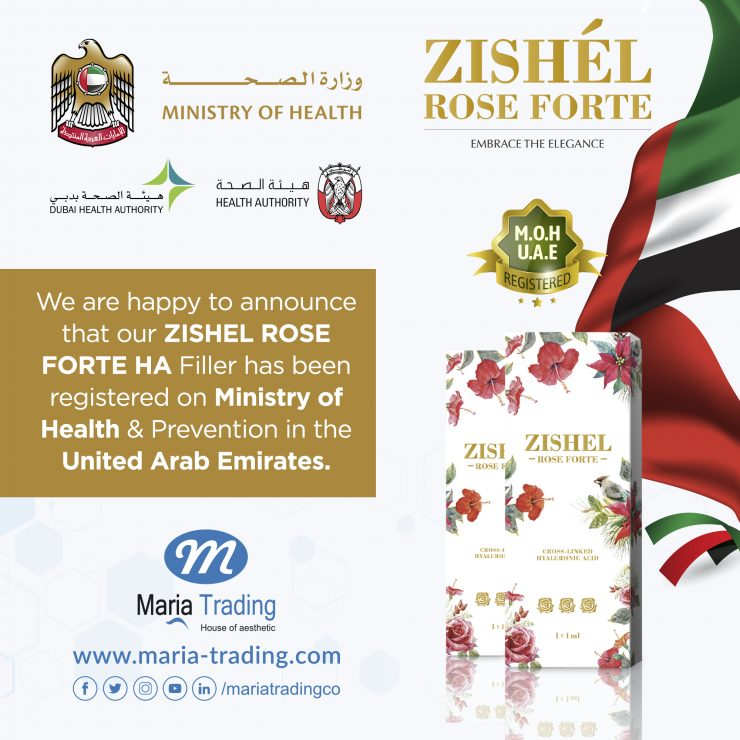 Zishel Rose Forte | Zishe Maria | Aesthetic Equipment Supplier