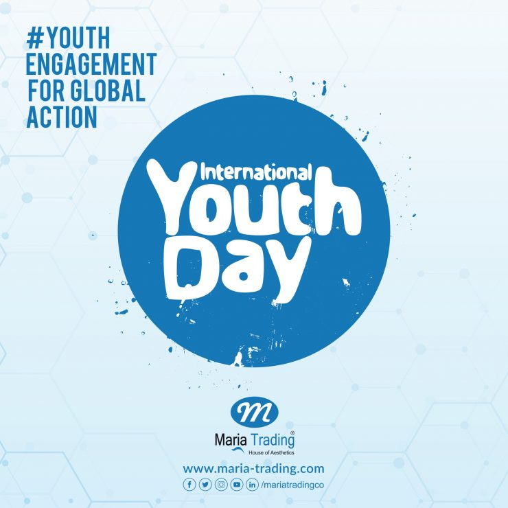 international Youthday 2020 | Maria Trading | dernatology equipment in uae | iyd2020