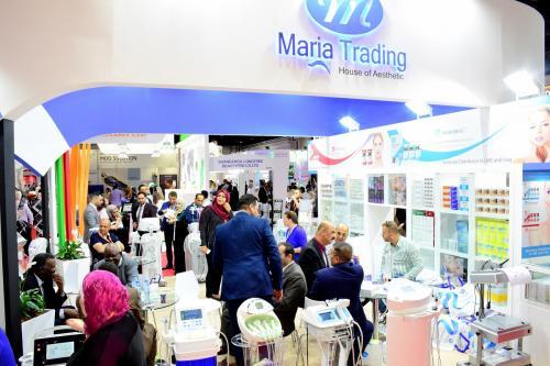 dubai derma 2018 maria trading
